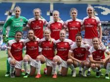 Nederlands viertal kampioen met vrouwenteam Arsenal