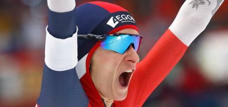 Sablikova pakt tiende WK-goud op 5000 meter, zilver voor Visser