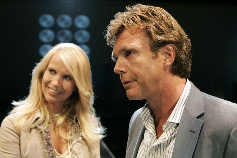 Linda en John de Mol. Beeld anp