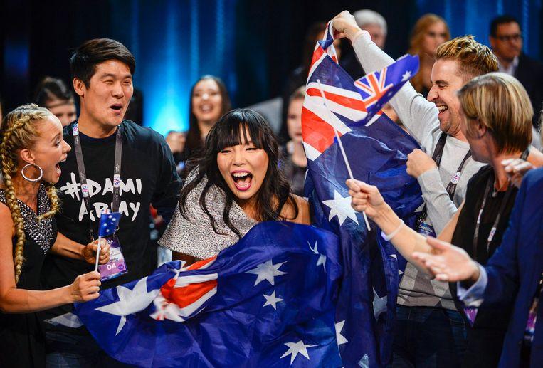 De Australische Dami Im viert haar kwalificatie.