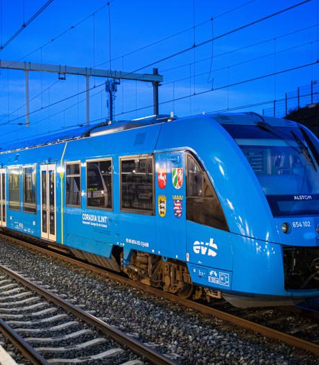 Primeur: eerste waterstoftrein rijdt via Oldenzaal het land binnen