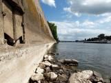 Laag waterpeil door droogte: inhaalverbod binnenvaart op IJssel