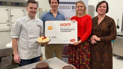 """Jonge chef-patissiers winnen ondernemersprijs met ambachtelijke kant-en-klare basis voor taart en gebak: """"Wij willen de bakkerijsector redden"""""""