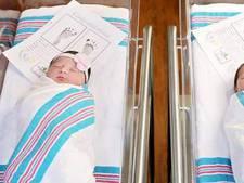 Moderne Romeo en Julia bijna gelijktijdig geboren in zelfde ziekenhuis