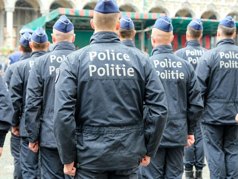 defilé Politie Brussel