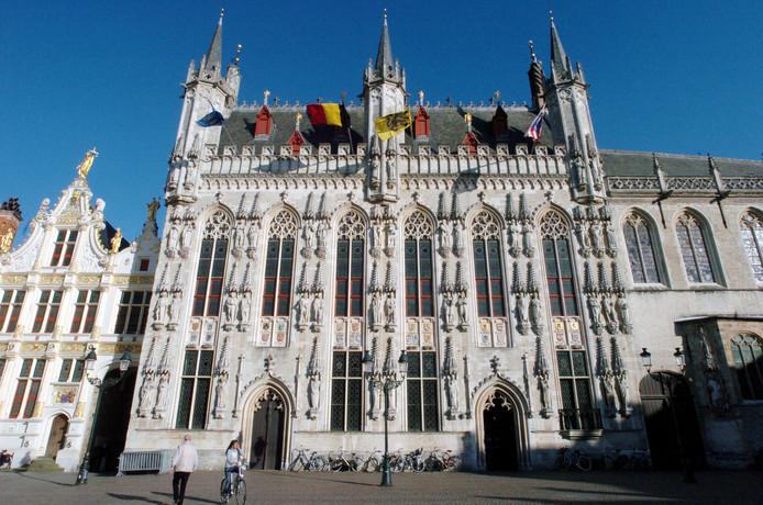 Het stadhuis van Brugge.
