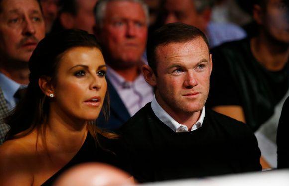 Coleen en Wayne Rooney.