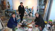 Peter Reekmans laat burgemeesterssjerp veilen in kunstwerk van Pim Smit