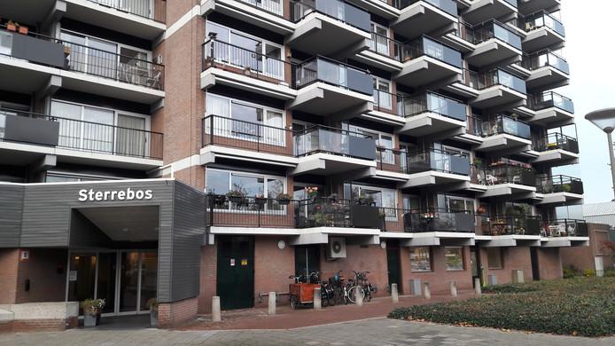 De Sterrebosflat in de Osse wijk Ruwaard.