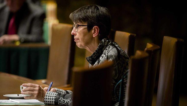 Staatssecretaris Jetta Klijnsma: 'Ook al zitten ze op het absolute minimum, mensen moeten wel kunnen leven.' Beeld anp