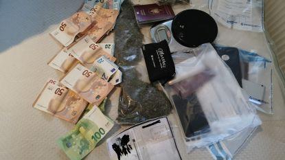 """Negen arrestaties bij reeks huiszoekingen in grootschalig drugsdossier: """"Café diende als ontmoetingsplaats"""""""
