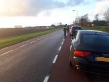 Automobilisten flitsen over Kijkuitstraat in Clinge: twee rijbewijzen afgepakt