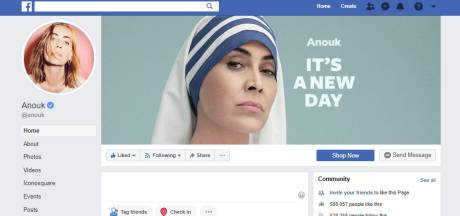 Anouk gaat van Facebook af