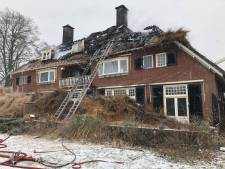 Bewoner weet te ontsnappen aan brand in kapitale villa Leusden
