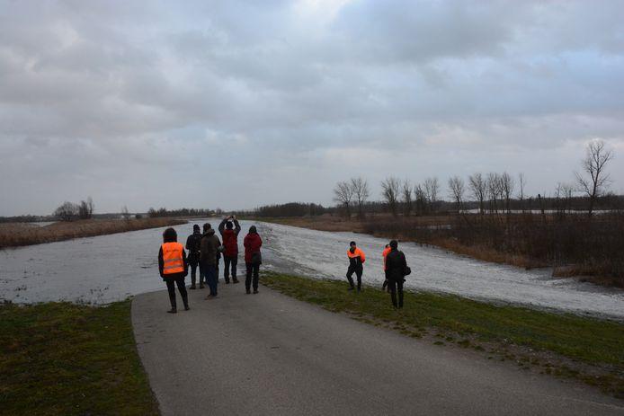 Net als vorig jaar bestaat de kans dat de Schelde over de dijk zal stromen.