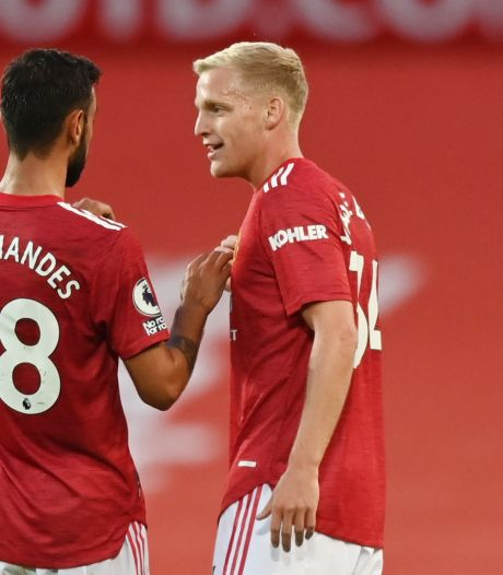Fernandes: 'Donny en ik kunnen prima samenspelen'