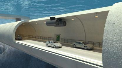 Noorwegen in poleposition om 's werelds eerste 'zwevende tunnel' te bouwen