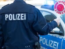 Duits drietal op de vlucht na crash in paardenwei