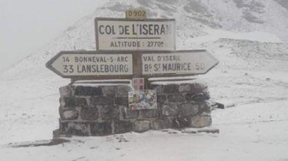 Moet Tour-organisatie ingrijpen? Col d'Iseran bedekt onder laagje sneeuw