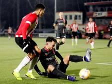 Jong PSV en MVV delen punten op koude Herdgang