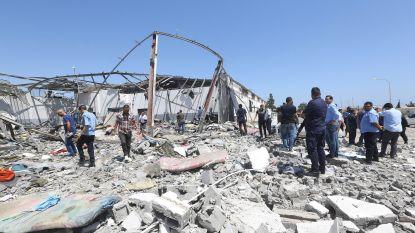 Libië overweegt sluiting van alle vluchtelingencentra na bombardement