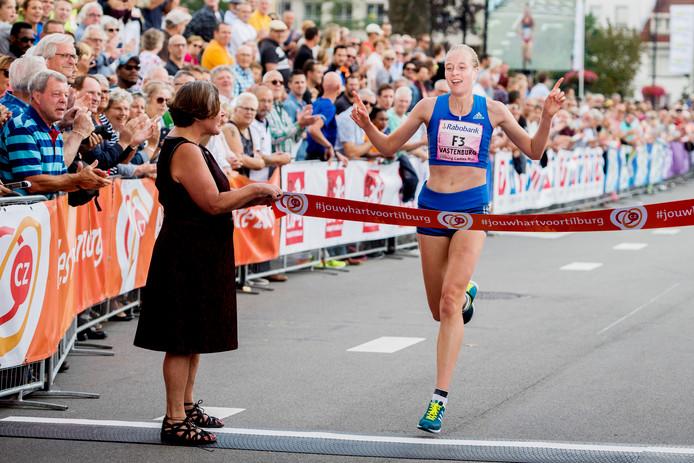 Jip Vastenburg was de snelste Nederlandse bij de Ladies Run.
