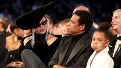 VIDEO: Blue Ivy (6) schaamt zich rot voor sexy Beyoncé en Jay-Z