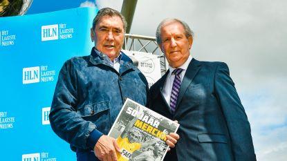 """Merckx krijgt eerste exemplaar fotoboek Tour '69: """"Prachtige dingen die weer tevoorschijn komen"""""""