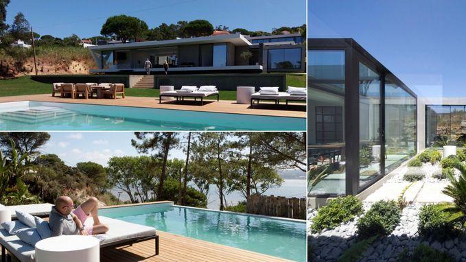 VIDEO: Portugese villa met Hollywoodallures is tweede verblijf van Alex en Theo