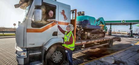 Trucker Raymond (35): Een middelvinger beantwoord ik door vriendelijk te zwaaien