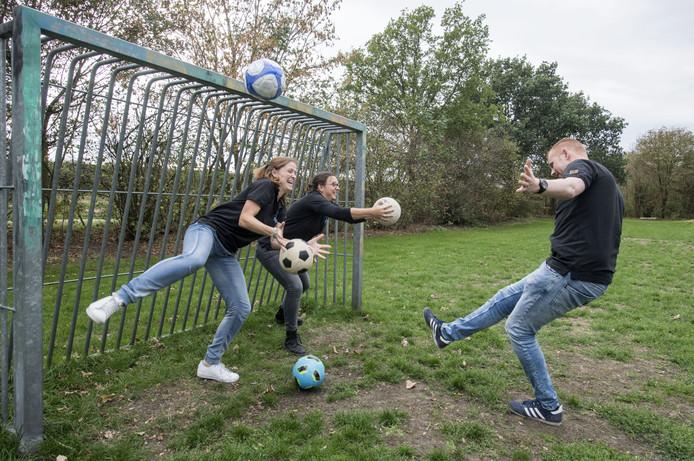 Stichting De Welle organiseert al veel activiteiten op het gebied van sport en bewegen. Zoals het keten-voetbaltoernooi van de afdeling jongerenwerk.