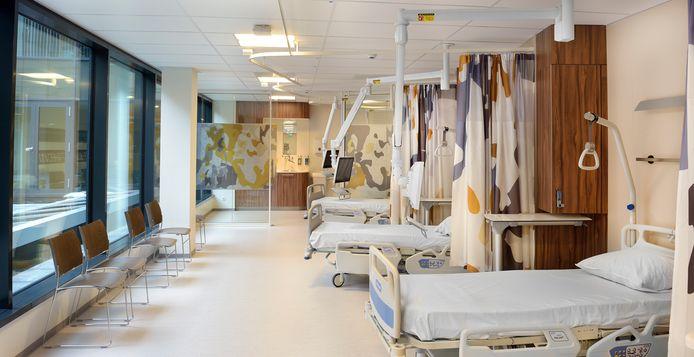 Bedden in het Antoni van Leeuwenhoekziekenhuis