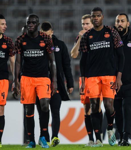 Crisis bij PSV: ploeg van Van Bommel zakt verder weg in moeras