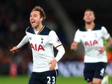 Tottenham blijft in titelrace dankzij goal Eriksen