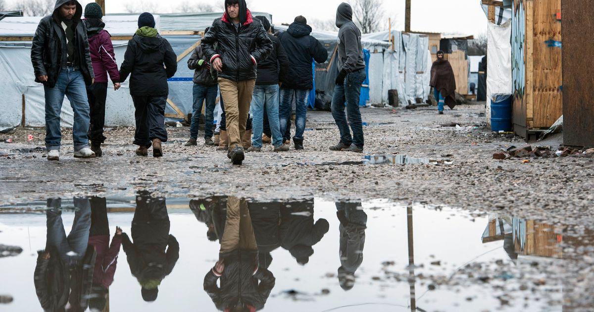 Migranten Calais