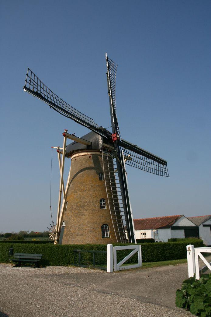 De molen van Meliskerke.
