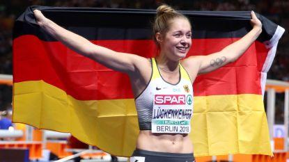 """Duitse atlete heeft zilveren medaille te danken aan wel heel eigenaardig ritueel: """"Ik leg een batterij op mijn tong en ik ben er klaar voor"""""""