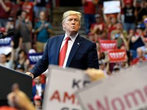 Donald Trump premier président à la marche anti-avortement