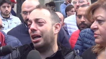 """""""Ik ben alles kwijt"""": man verliest zijn twee kinderen, vrouw, ouders, broer en zus bij overstromingen in Italië"""
