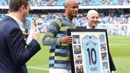 """Kompany krijgt een erewedstrijd in het teken van het goede doel: """"Dé kans om iets terug te geven aan de mensen van Manchester"""""""