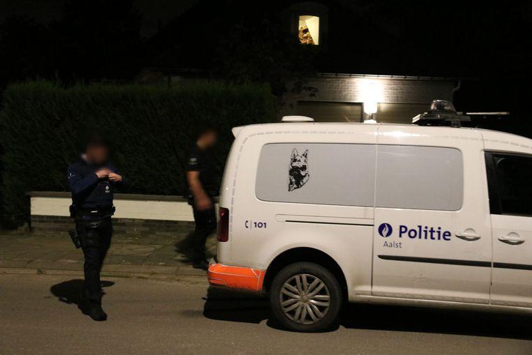 Gisterenavond werd nog een klopjacht gehouden in de buurt van Herdersem.