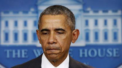 """Obama: """"Niet alleen aanval op Parijs, dit is een aanval op de hele mensheid"""""""