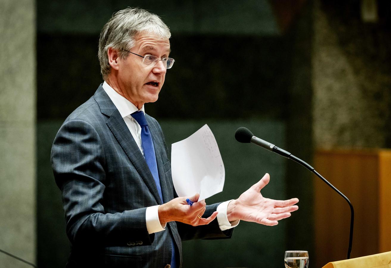 Minister Arie Slob van Basis- en Voortgezet Onderwijs en Media.