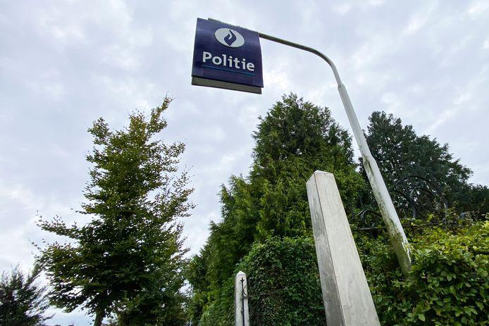 De politie Het Houtsche deed ter plaatse de nodige vaststellingen.