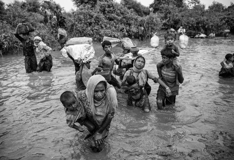 Rohingyavluchtelingen in Bangladesh.