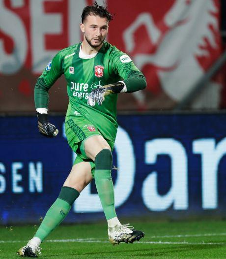 FC Twente-doelman Drommel is een keeper die wel kan voetballen