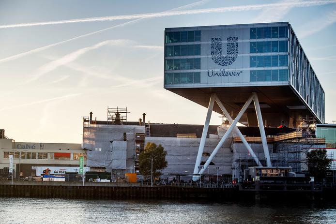 Het Rotterdamse kantoor van Unilever