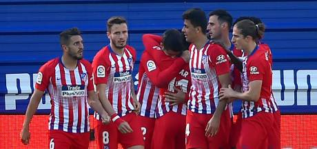 Atlético Madrid boekt benauwde zege bij Eibar