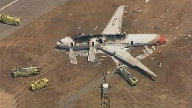 Twee doden bij crash Boeing 777 in San Francisco