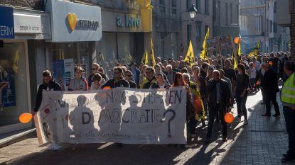 Vlaams Belang kaapt protestmars tegen coalitie Wetteren